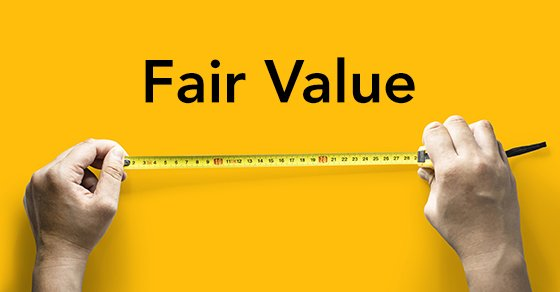 """What's """"fair value"""" in an accounting context?"""