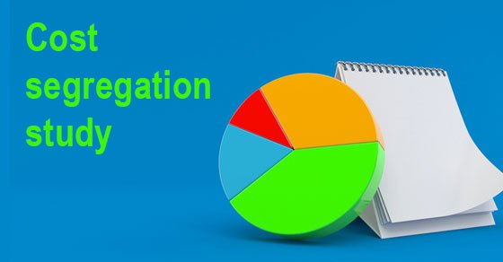Get your piece of the depreciation pie now with a cost segregation study
